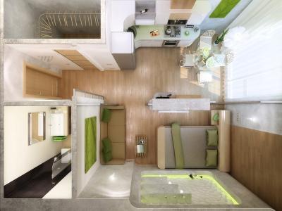 Оборудование студии- стильное и функциональное жилье