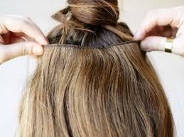 Наращивание волос в домашних условиях