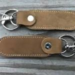Handmade leather key holder