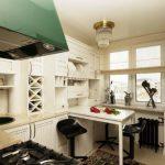 Меблировка и организация маленькой кухни