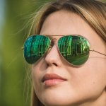Оригинальные и стильные солнцезащитные очки